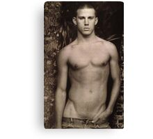 Young Channing Tatum Canvas Print