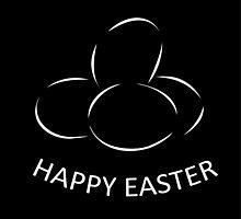 Happy Easter Card  by Shawlin Mohd