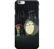totoro rain case iPhone Case/Skin