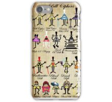 Bill Cipher Statistics. iPhone Case/Skin