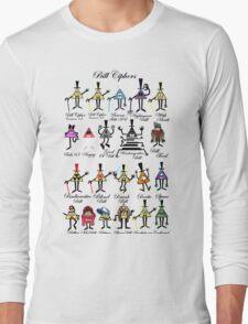 Bill Cipher Statistics. Long Sleeve T-Shirt