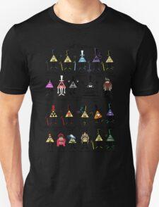 Bill Cipher Statistics. T-Shirt