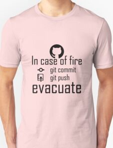 In case of fire ... back T-Shirt