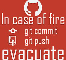 In case of fire ... red by giovybus