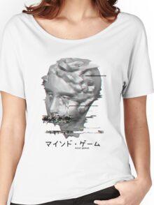 Glitch Vaporwave Aesthetics Women's Relaxed Fit T-Shirt