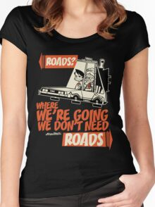 Roads Women's Fitted Scoop T-Shirt