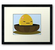 Firebog egg - glitch videogame Framed Print