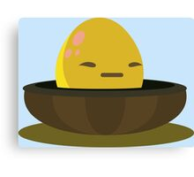 Firebog egg - glitch videogame Canvas Print