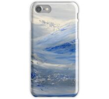 Blue Wave I iPhone Case/Skin