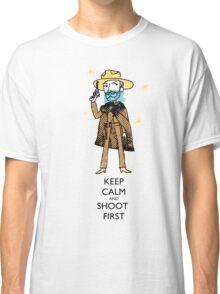 spaghetti western cowboy Classic T-Shirt