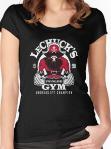 Ye Olde Gym Women's Fitted Scoop T-Shirt