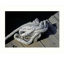 All Tied in Knots For You Art Print