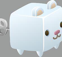Cubimal Snowcone vendor - glitch videogame by EnjoyRiot