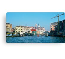 Italy - Venice, Scalzi bridge Canvas Print