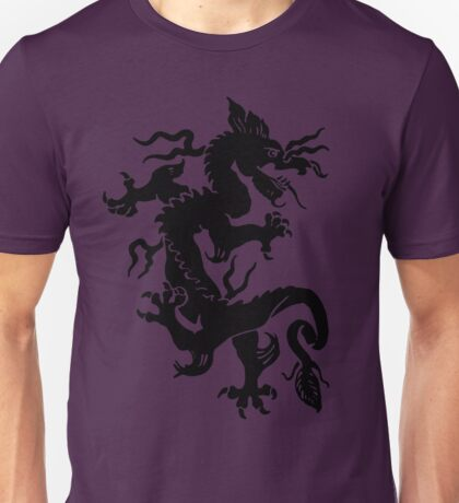 Chinese Dragon Design  Unisex T-Shirt