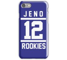 JENO 12 iPhone Case/Skin