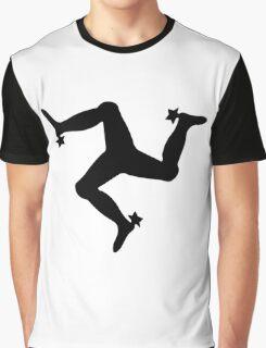 The Manx Triskelion, emblem of the Isle of Man Graphic T-Shirt