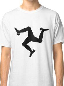 The Manx Triskelion, emblem of the Isle of Man Classic T-Shirt