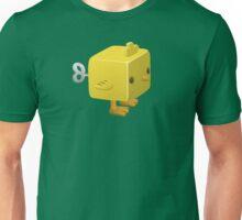 Cubimal chicken - glitch videogame Unisex T-Shirt