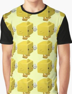 Cubimal chicken - glitch videogame Graphic T-Shirt
