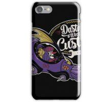 Dastardly Wacky Customs iPhone Case/Skin