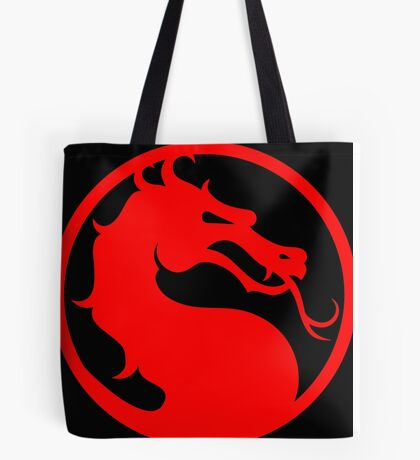 Mortal Kombat - Red Dragon Tote Bag