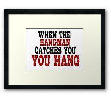 Trantino Movie Quotes Framed Print