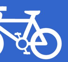 Cycle Lane Symbol Sticker