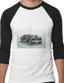 1930 Pierce Arrow B Roadster Men's Baseball ¾ T-Shirt