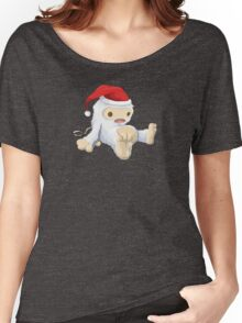 Glitchmas Yeti (Collectors Edition) - glitch videogame Women's Relaxed Fit T-Shirt