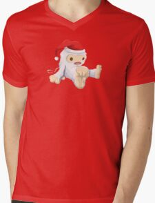 Glitchmas Yeti (Collectors Edition) - glitch videogame Mens V-Neck T-Shirt