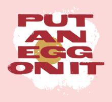 PUT AN EGG ON IT One Piece - Long Sleeve