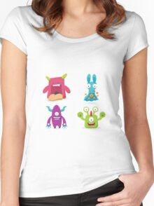 Monster's Club Women's Fitted Scoop T-Shirt