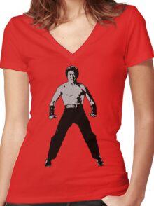 Sonny Women's Fitted V-Neck T-Shirt