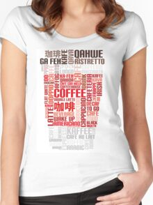 Coffee to go! Women's Fitted Scoop T-Shirt