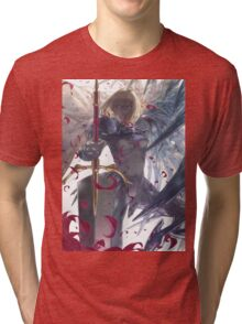 Anime Clare - Claymore Tri-blend T-Shirt