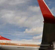 QANTAS Retro 737,Avalon Airshow,Australia 2015 Sticker