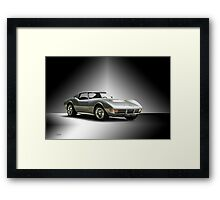 1971 Corvette Stingray 427 ZR1 Framed Print