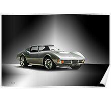 1971 Corvette Stingray 427 ZR1 Poster