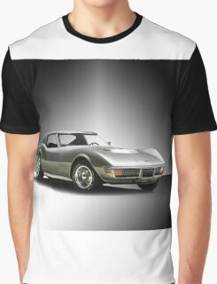 1971 Corvette Stingray 427 ZR1 Graphic T-Shirt