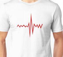 Heart Rate Unisex T-Shirt