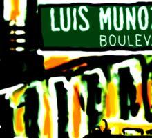 E116 STREET LUIS MUNOZ MARIN (C) GYLLIAYN  Sticker