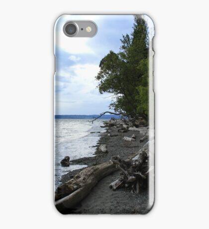 Sea meeting land iPhone Case/Skin
