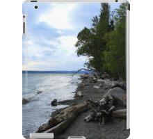 Sea meeting land iPad Case/Skin