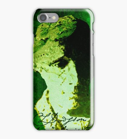 Lewis Carroll iPhone Case/Skin