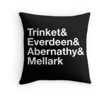 Trinket& Everdeen& Abernathy& Mellark Throw Pillow