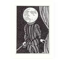 moonlight shakespeare Art Print