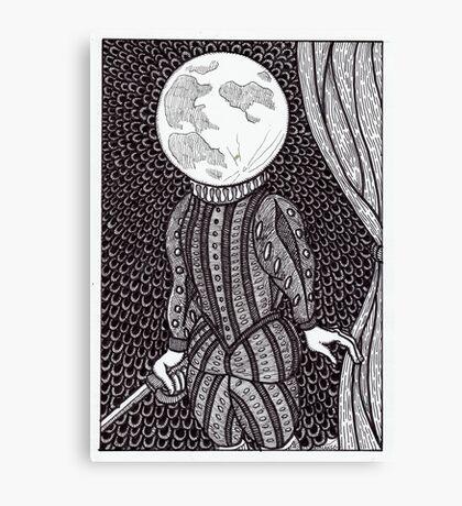 moonlight shakespeare Canvas Print