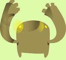 Firebog Flash Crasher Demon - glitch videogame by EnjoyRiot