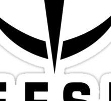 EFSF - BLACK Sticker